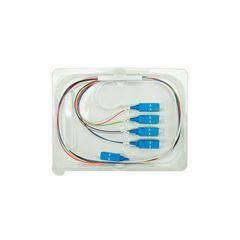 Splitter óptico com conector PLC 1X8 SC/UPC - XFS 181