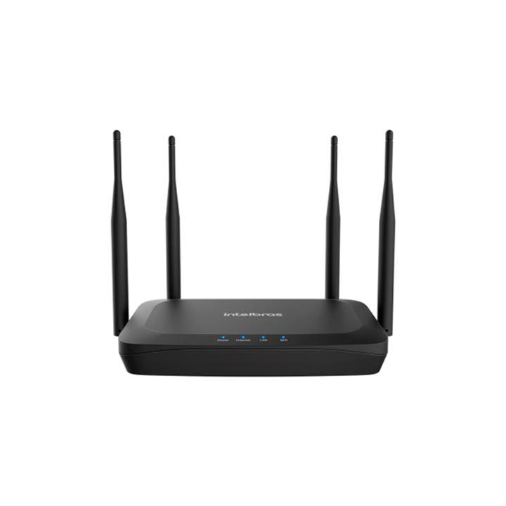 Roteador Wi-Fi 5 com porta WAN giga e LAN fast GF 1200