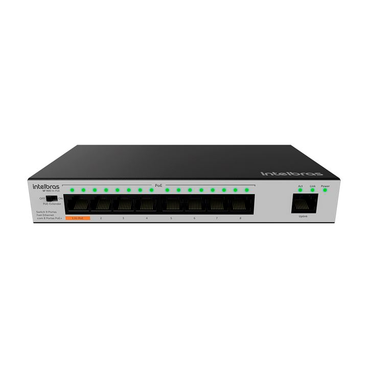 Switch 9 portas SF 900 HI-POE