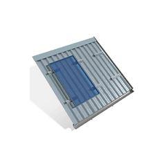 Estrutura solar telha metálica para 4 placas