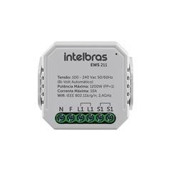 Mini controlador smart Wi-Fi com entrada para 1 interruptor EWS 211 - IZY