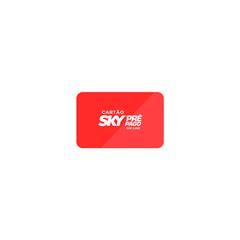Cartão pré pago online SKY