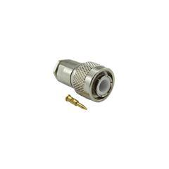 Conector TNC macho prensa cabo para RG 58