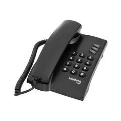 Telefone com fio Pleno (preto)