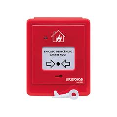 Acionador manual endereçável sem sirene - AME 521