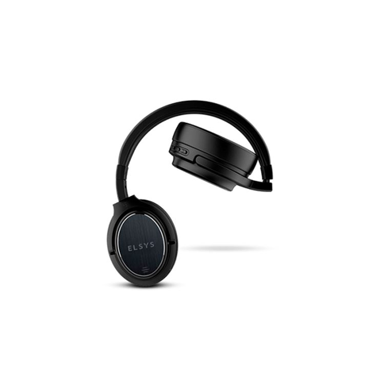Fone supra-auricular cancelamento ruídos bluetooth - Cor preto